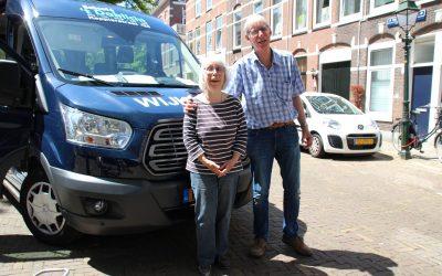 Vrijwilligersbezorgers Hans & Ellen getuigen: 'Ze zien de hele week geen mens'