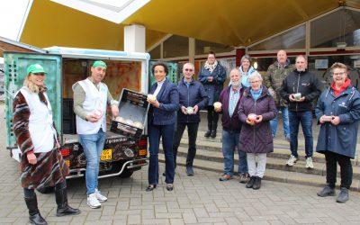 40.000e Soeper Winter soep uitgereikt in Rijswijk